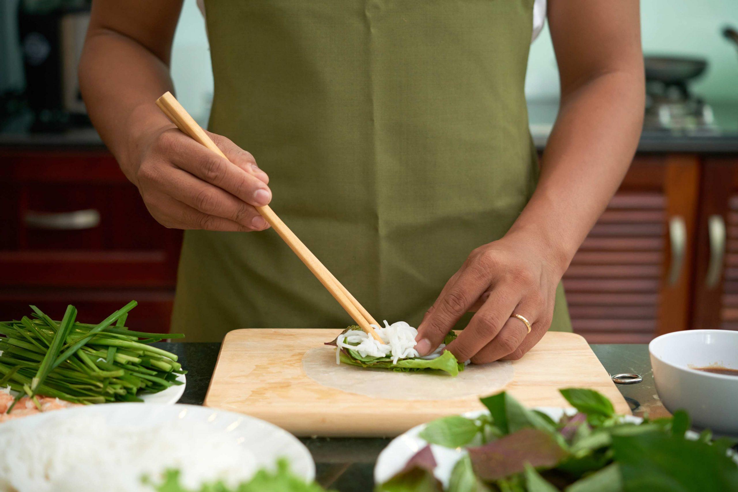 making-vegetarian-spring-rolls-MTFWFMC